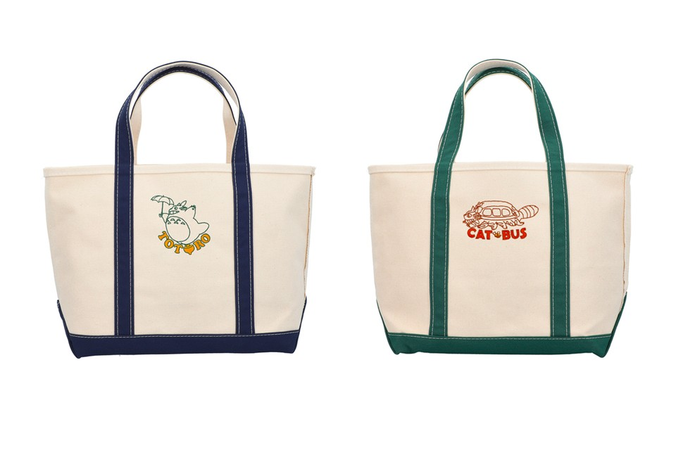 Studio Ghibli Partners With L.L. Bean for Totoro Tote Bags