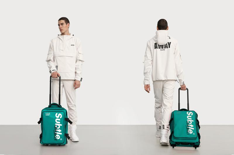 Subtle Presents Dual-Purpose AFAR Suitcase Back Pack Airport Travel