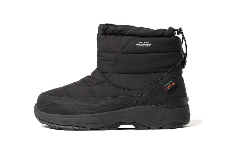 Suicoke x BEAMS FW19 Shoe Footwear Collaboration pepper bower boot snow fall winter 2019