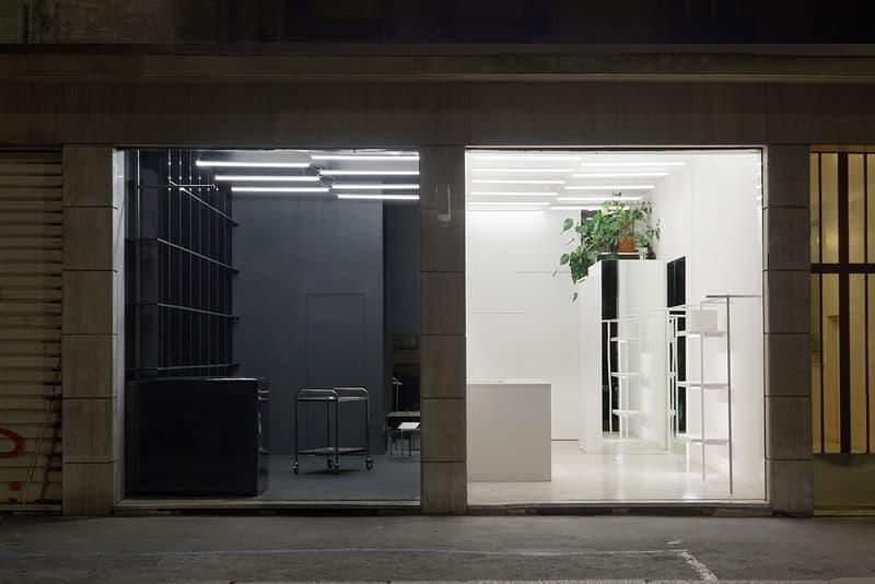 SUNNEI Milan Flagship Store Look Inside Loris Messina Simone Rizzo Via Vincenzo Vela Studio Modulo Reading Room Corner Menswear Womenswear Shops Interior Design Architecture