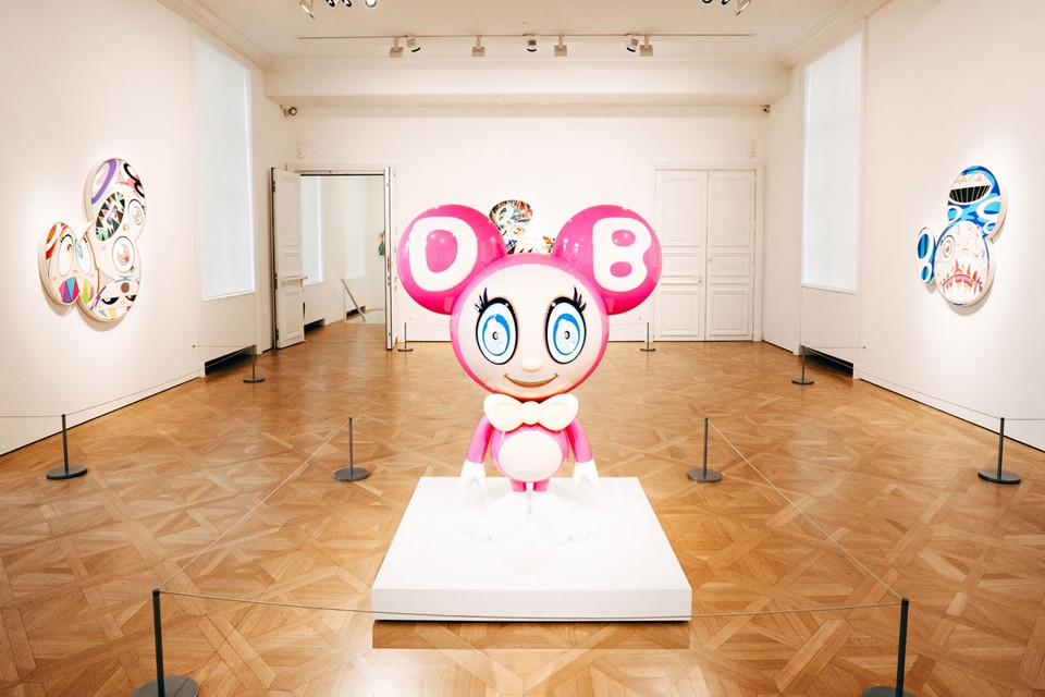 "Enter Takashi Murakami's ""Baka"" Exhibition at Galerie Perrotin in Paris"