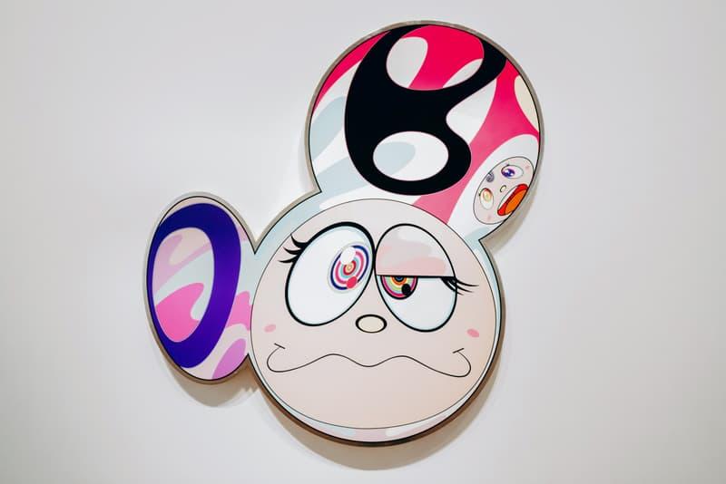 "Takashi Murakami ""Baka"" Exhibition Galerie Perrotin Paris Mr. DOB Paintings Sculptures Devil Ko Qinghua"