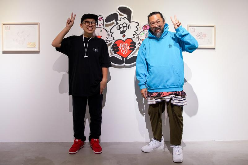 takashi murakami verdy harajuku day tokyo japan recap exhibition pop up festival artworks