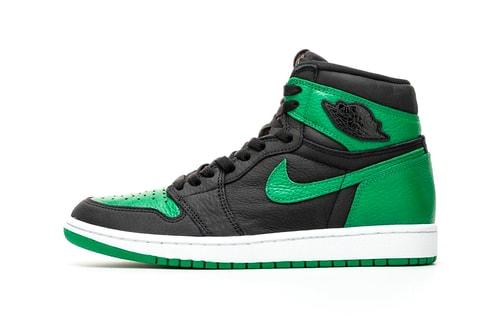 "Take a First Look at the Air Jordan 1 High OG ""Pine Green"""