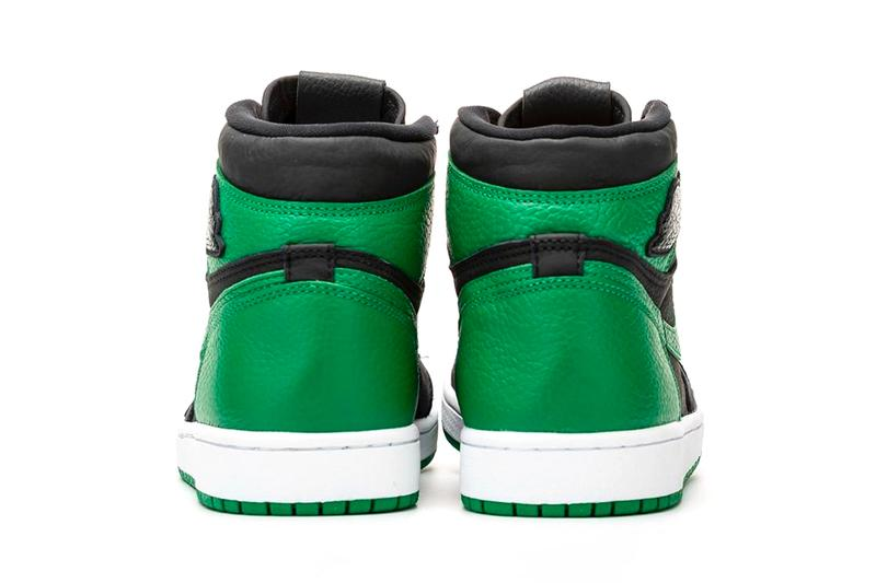 Air Jordan 1 High OG Pine Green First Look 555088-030 Release Info Date Price Black