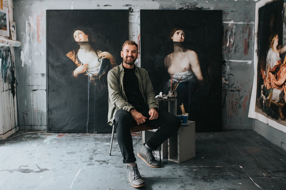 Ted Pim Showcases Realistic Paintings at First-Ever U.S. Solo Exhibition