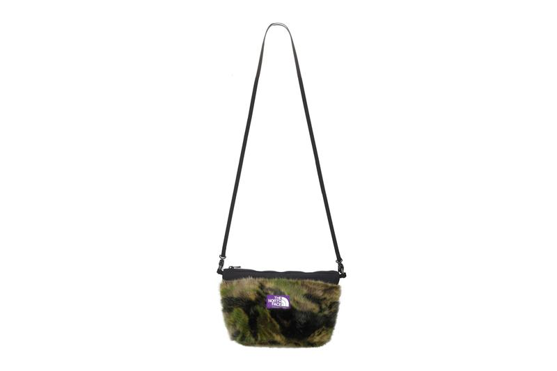 THE NORTH FACE PURPLE LABEL Camo Fur Frontier Cap Field Shoulder Bag Pouch fall winter 2019 accessories bags outdoor apparel