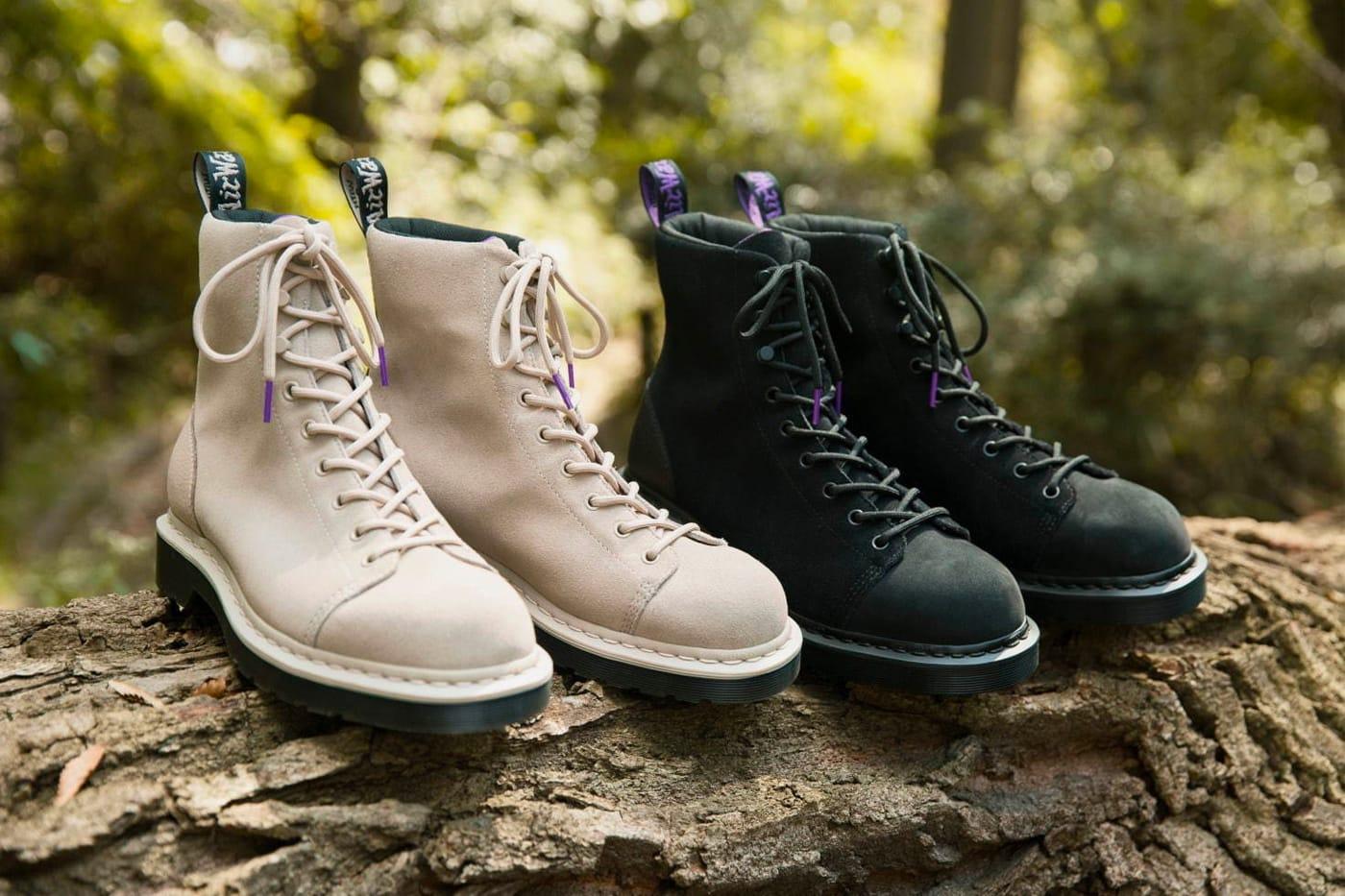 x Dr. Martens 9 Tie Boots