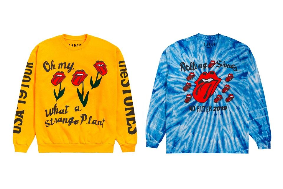 """The Rolling Stones & Cactus Plant Flea Market Launch """"No Filter"""" US Tour Capsule"""