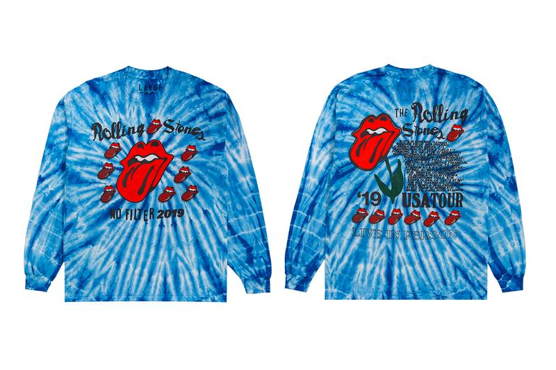 The Rolling Stones Cactus Plant Flea Market No Filter US Tour Capsule Crewneck T shirt