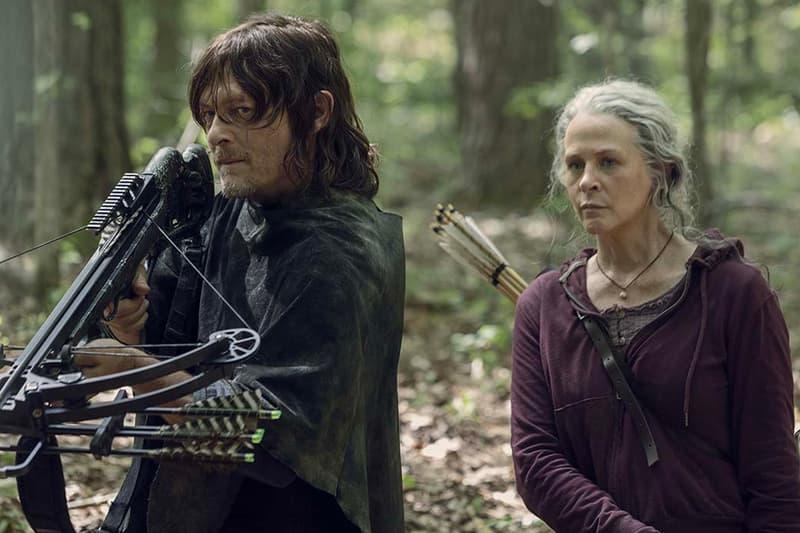 The Walking Dead Season 10 Begin in Space Rick Grimes Lines We Cross Daryl King Ezekiel Alpha Eugene Luke Vashchenko zombie tv shows AMC