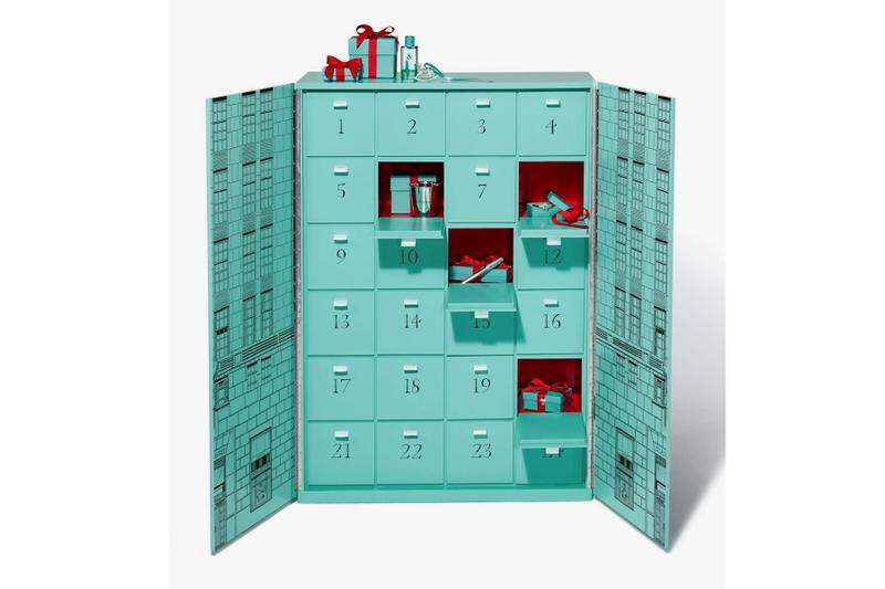Tiffany & Co. Drops $112,000 USD Advent Calendar christmas gifts jewelry accessories silver