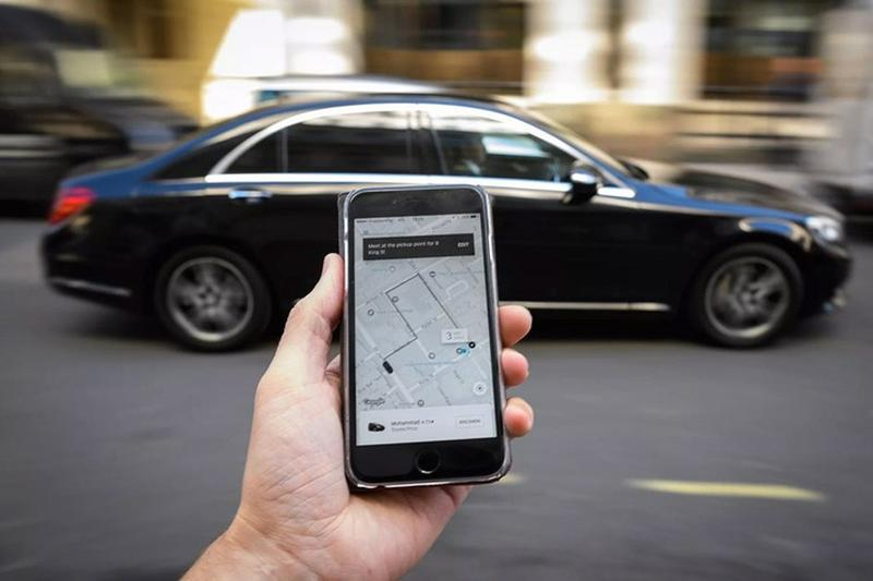 Uber rideshare tech mobile app study tipping statistics National Bureau of Economic Research