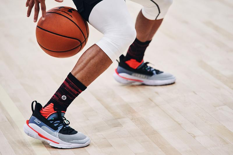 ua under armour steph stephen curry 7 UNDRTD underrated red grey black white release date info photos