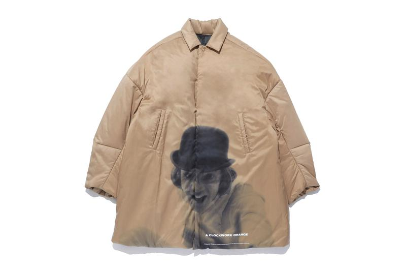 UNDERCOVER Parka A Clockwork Orange Stanley Kubrick film 1971 classic nylon insulated jun takahashi undercoverism coat jacket nylon