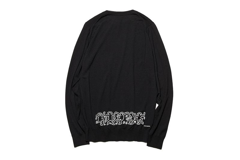 uniform experiment fragment design keith haring hoodie sweater cardigan collaboration collection release date november 2 2019 SOPHNET. 20th anniversary collection