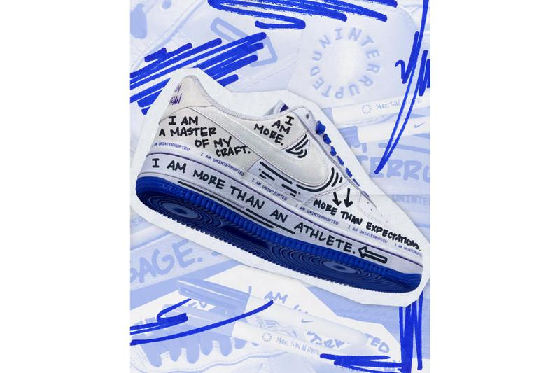 Uninterrupted Launches Nike Air Force 1 & E-Commerce Store apparel collection Maverick Carter collaborations lebron james more than an athlete