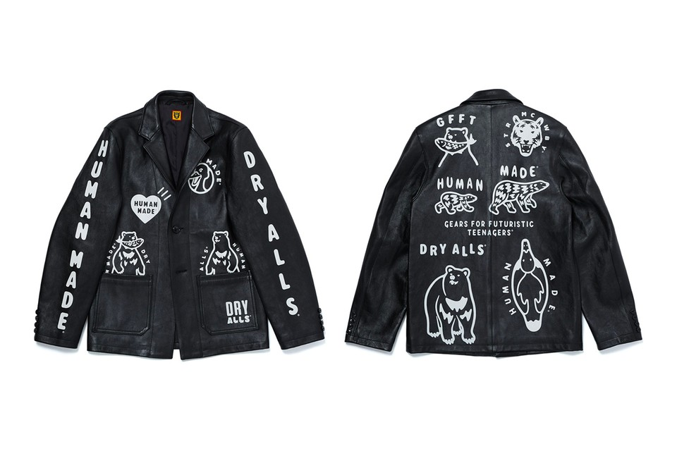 UNITED ARROWS & SONS Taps HUMAN MADE for Bespoke Leather Blazer