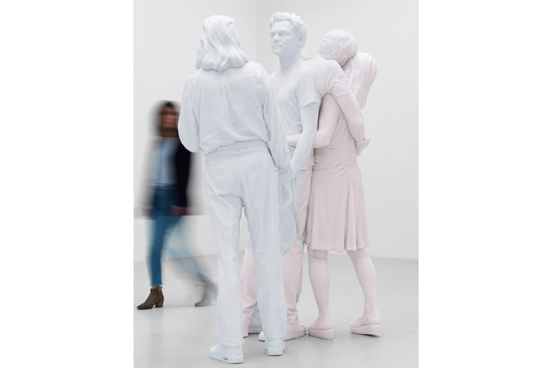 "Urs Fischer ""Leo"" Exhibition Gagosian Paris Candle Sculptures Leonardo di Caprio George DiCaprio Irmelin Indenbirken White"