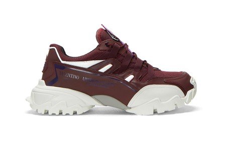 Valentino x UNDERCOVER Drop Climbers Sneakers in Purple