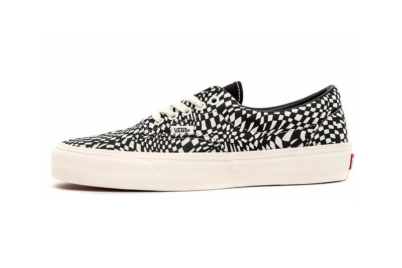"Vans Era SF ""Warp Check"" Release Information First Look Footwear Sneaker Skateboarding OG Classic Black Marshmallow Vulcanized Off The Wall"