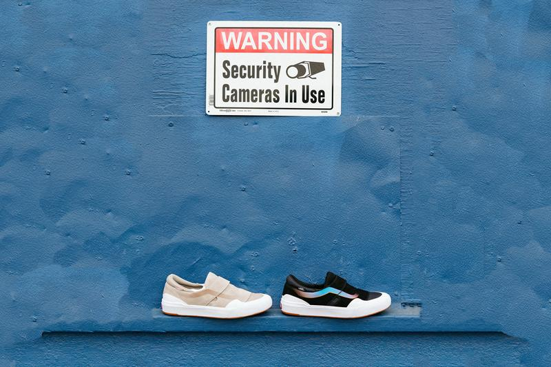 vans slip on exp pro black blue tan white wafflecontrol waffle control skateboarding