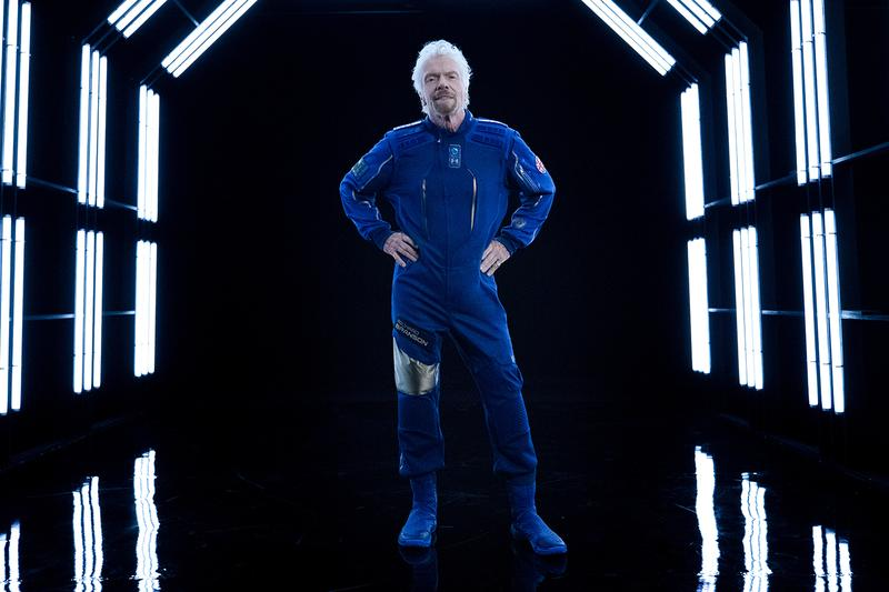 Virgin Galactic x Under Armour Unveil Spacewear world's first space travel Sir Richard Branson Kevin Plank astronaut exploration