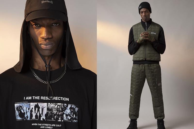 "Wasted Paris ""COLLAPSE"" Fall/Winter 2019 Collection Lookbook Post Apocalyptic Atmosphere Outwear Techwear Cozy ripstop fabrics holo reflective double reflections thermo-sensitive"