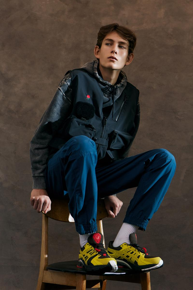 Wood Wood Fall/Winter 2019 Editorial GORE-TEX Nike Gyakusou ZM Pegasus 36 TR Snow Peak Work Vest CristaSeya Bless Denim Jacket Parkas Beanies Trousers Blazers Vests Hats