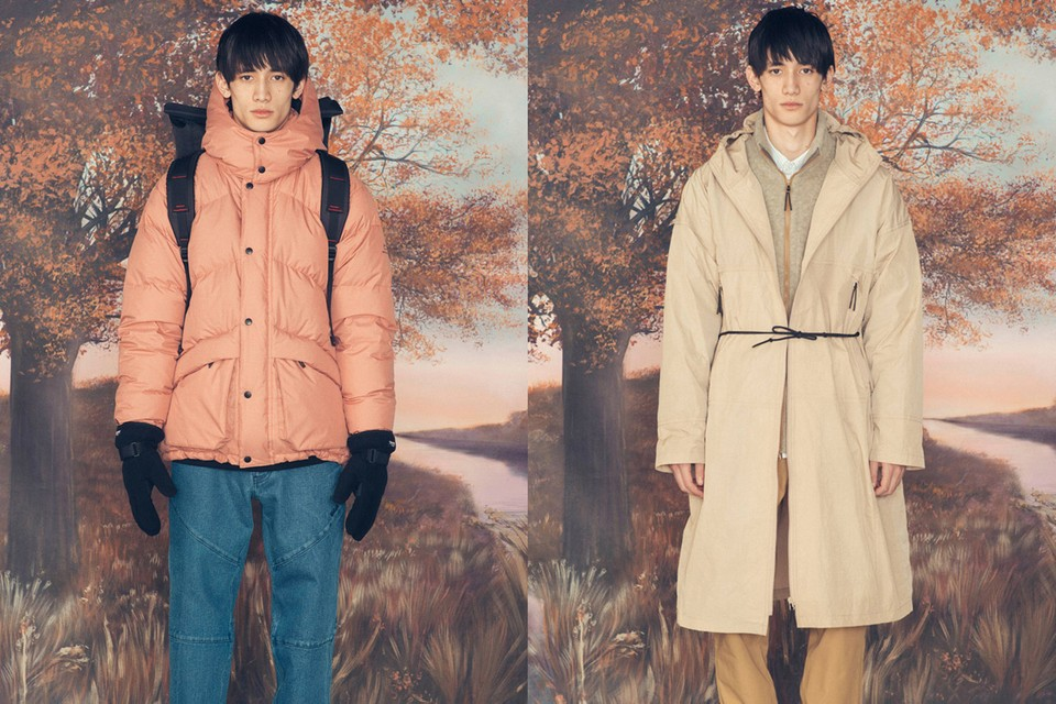 Woolrich FW19 Boasts Japanese-Inspired Natural Tones