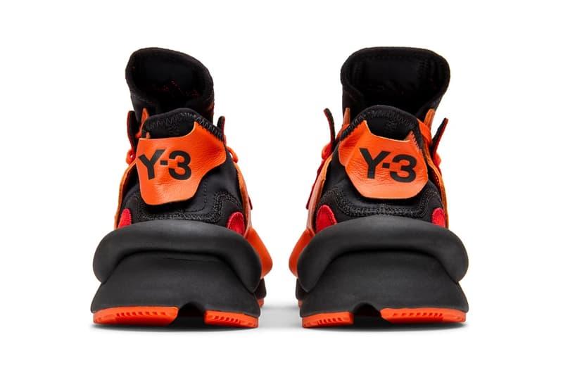 adidas y3 kaiwa orange red black yohji yamamoto
