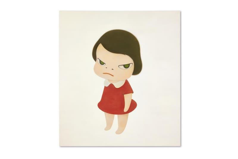 yoshitomo sothebys hong kong knife behind back painting artworks