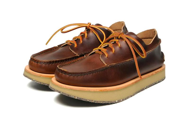 YUKETEN Fall Winter 2019 Collection footwear shoes boots handmade hand crafted made by leather artisans maine usa yuki matsuda moccasins