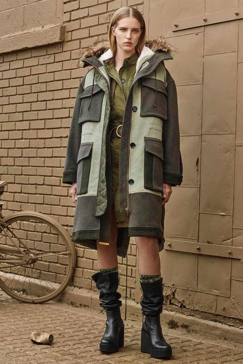 zara srpls collection 3 fall winter 2019 drop 1 release military wear uniform khaki cargos utilitarian men women children launch