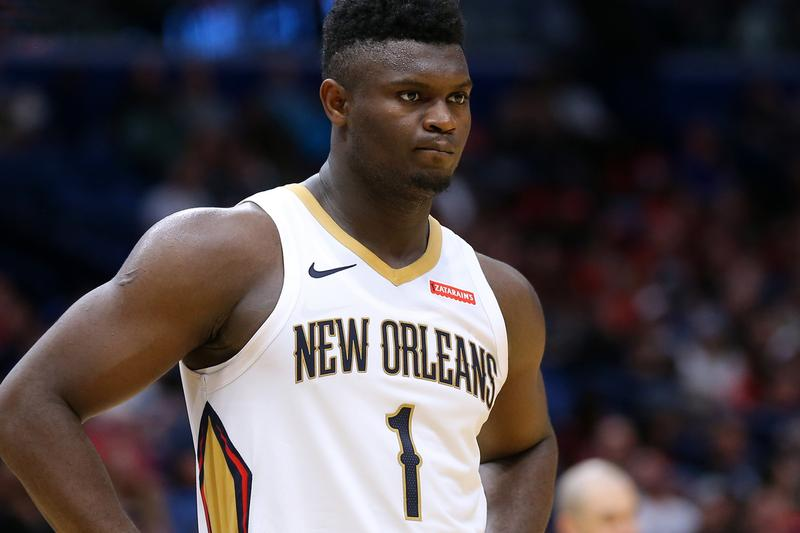 Zion Williamson Sit Out 6 8 Weeks Knee Injury new orleans pelicans nba national basketball association