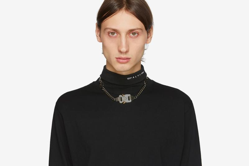 1017 ALYX 9SM SSENSE Exclusive Hero Chain Necklace Silver Release info Date Matthew M Williams Buy