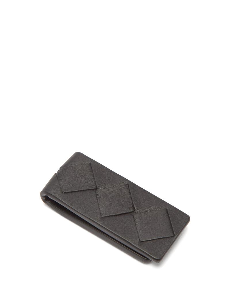 BOTTEGA VENETA  Black Leather Magnetic Money Clip Release Where to buy Price 2019 Daniel Lee