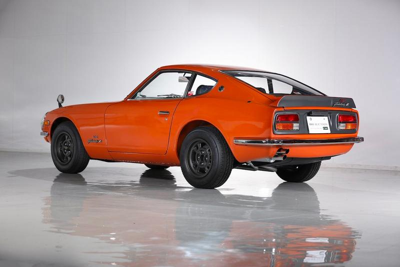 1970 Nissan Fairlady Z432R racing cars vintage BH auction bidding track