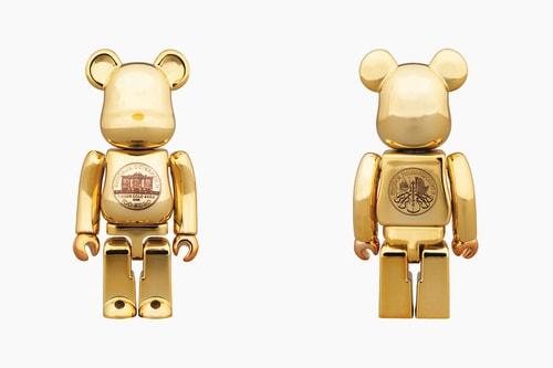 Medicom Toy Vienna Philharmonic Gold BE@RBRICK