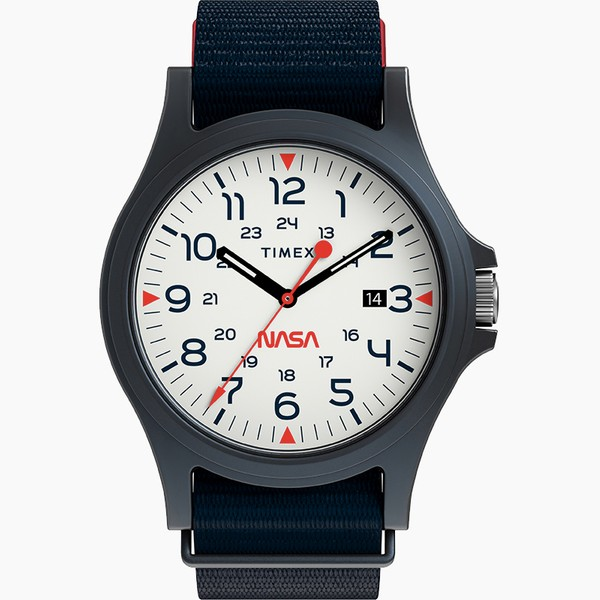 NASA Navi XL 41mm Fabric Strap Watch