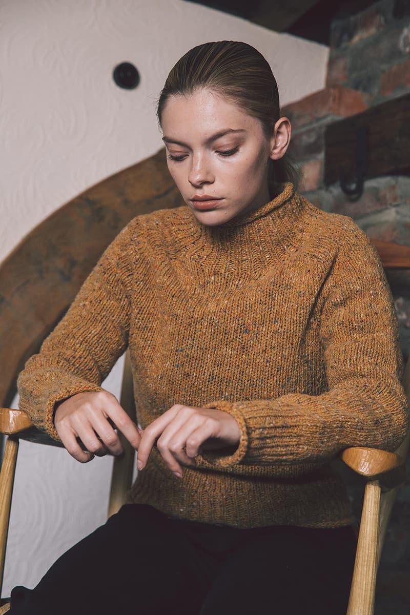 YMC Pre-Spring/Summer 2020 Collection Lookbook Menswear Womenswear Black Ecrus Tonal Clean Simple Minimalist Cashmere Merino Wool Shirts Jackets Trousers London UK Brand