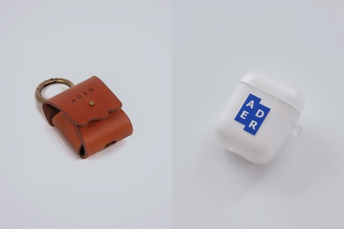 ADER error Drops Line of Signature Branded AirPod Cases & Leather Carry Pouch