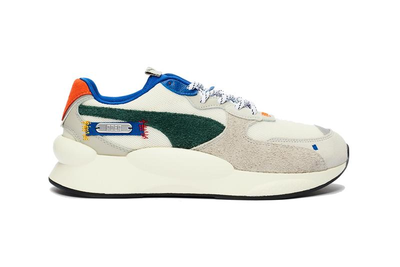 ADER error x PUMA CELL Alien RS 9 8 98 Release Info sneakers shoes sneakersnstuff white cream tan red blue green yellow orange black