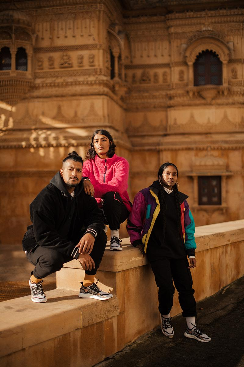 adidas and Foot Locker Drop SPEEDFACTORY AM4 ULTRABOOST CP LONDON Fashion Streetwear Graphic Desgin Jasmin Sehra