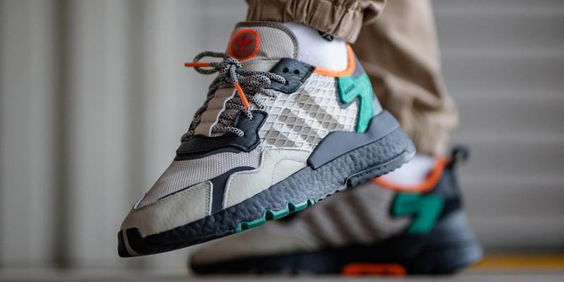 adidas originals nite jogger sesame core black bright green EE5569 release date info photos price
