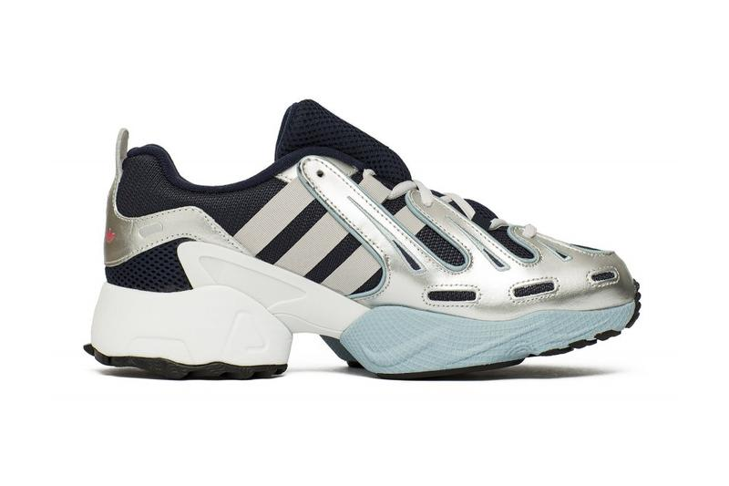 adidas originals eqt gazelle silver grey navy chmielna 20 release information buy cop purchase sneaker footwear details leather mesh