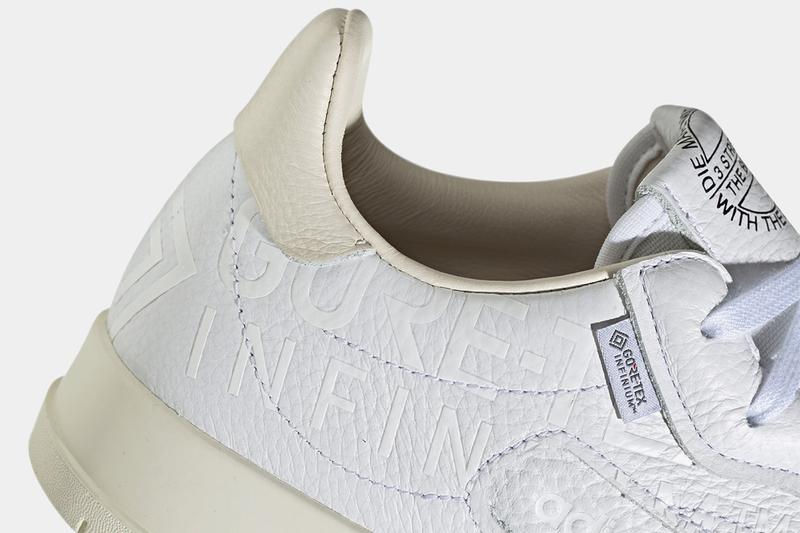 adidas Originals GORE-TEX INFINIUM Pack Rivalry Low Superstar SC Premier Supercourt RX Archive Models New Iterations White Leather Debossed Branding Fall Winter Footwear Sneakers Weatherproof