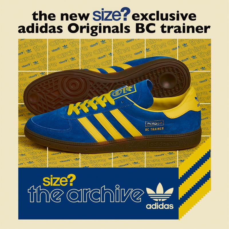 size adidas originals bc trainer handball 1970 blue yellow gum sole release information buy cop purchase casual trainer sneaker 1970s