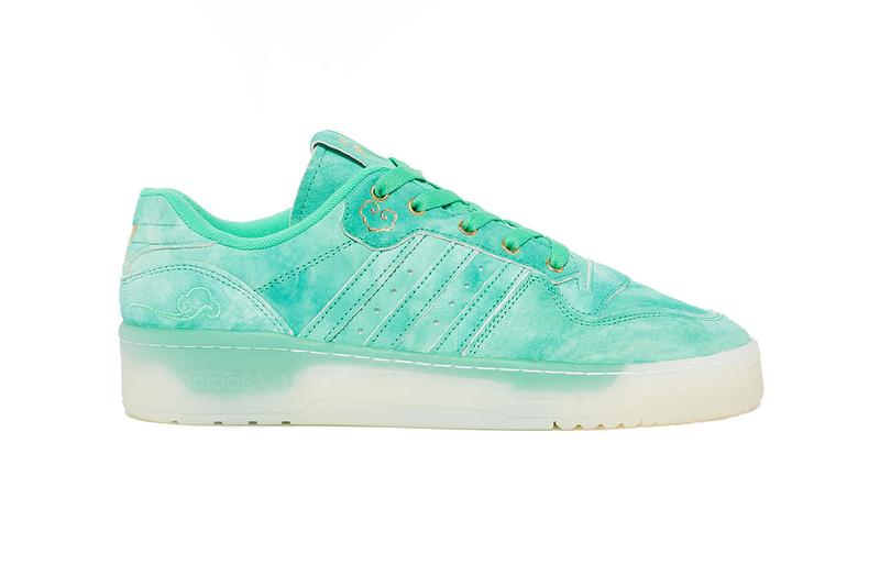 adidas rivalry low chinese singles day FV4523 hi res green footwear white gold foil release date info photos price