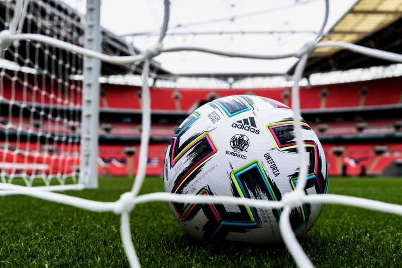 "adidas ""Uniforia"" EURO 2020 Match Ball soccer football tournaments 60th anniversary three stripes"